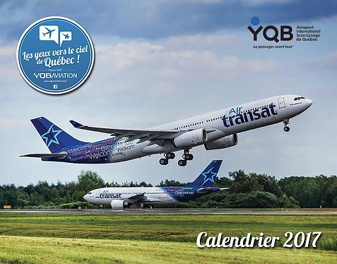 Calendrier 2017 YQB Aviation