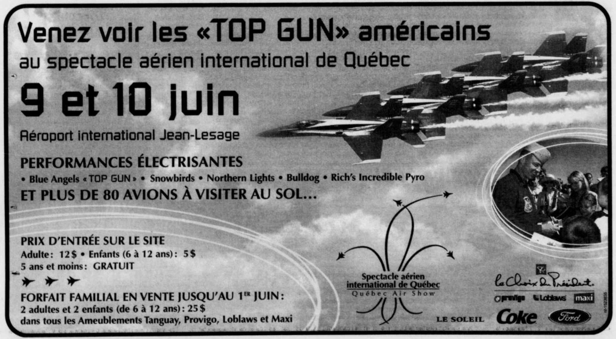 Journal Le Soleil 26 mai 2001
