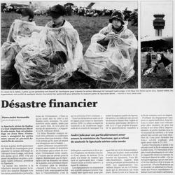 Journal Le Soleil 12 juin 2006