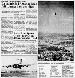 Journal Le Soleil 19 août 1989