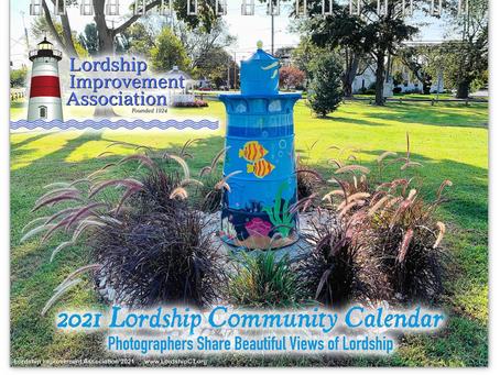 LAST CHANCE TO BUY - 2021 LORDSHIP COMMUNITY CALENDAR