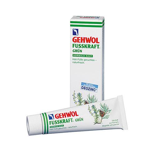Gehwol Fusskraft Groen (normale huid) 125 ml