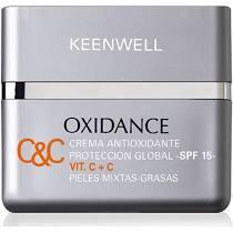 Oxidance Multibeschermende Crème Vit. C+C SPF 15 - Vette en gecombineerde huid