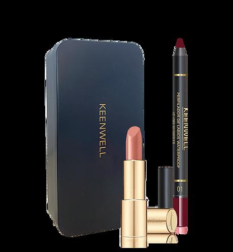 Tramuntana Lipstick nr. 38 + Lipliner nr. 1