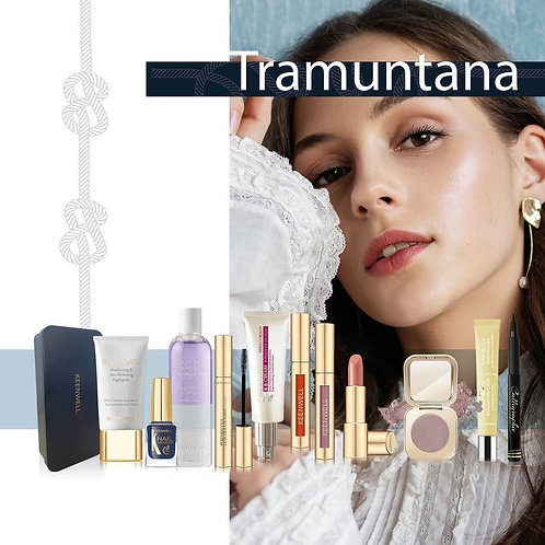 Tramuntana Calligraphic Eyeliner zwart + Eyeliner Waterproof nr. 63 + Ooggloss