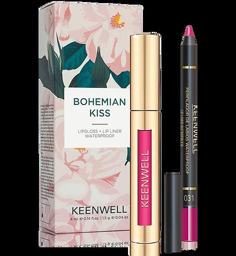 Kit 3: Bohemian roze lipgloss nr. 67 + Lipliner nr. 31