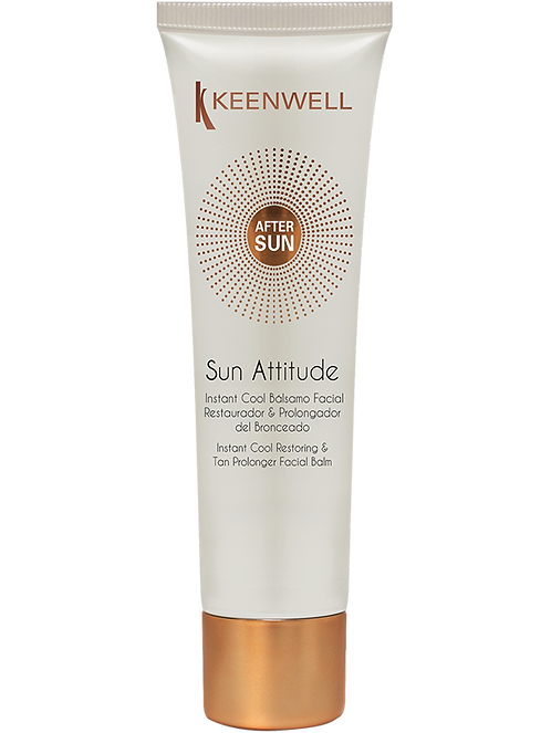 After Sun Instant Cool & Tan Prolonger Gelaat
