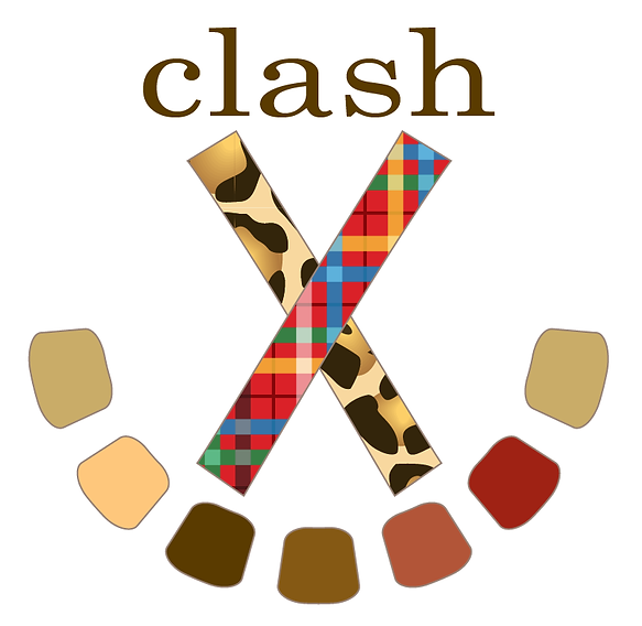 Beth A. Maxwell's Web and Graphic Design Portfolio – Logo Design Student Project – clashX App Logo.  Click on image to enlarge picture.