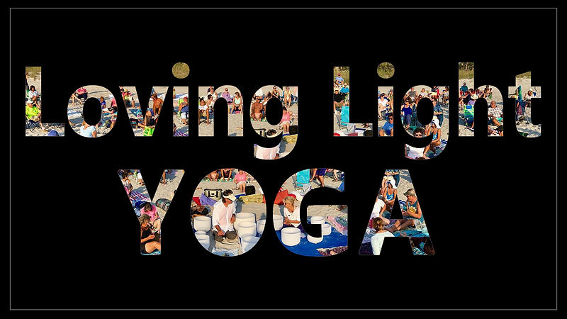 Fancy Text Created for Lata and Robert of Loving Light Yoga