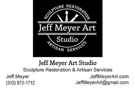 Jeff Meyer Art Business Card Back