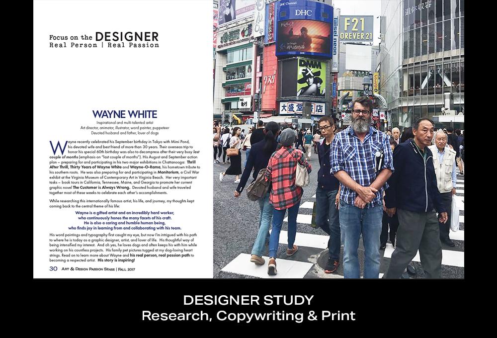 Coconut BAM Productions | Portfolio | Designer Study | Print Design