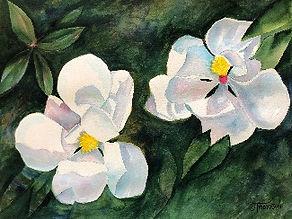 Original Artwork © Judy Thompson   Watercolor Addict   Abstract Art of Lady J