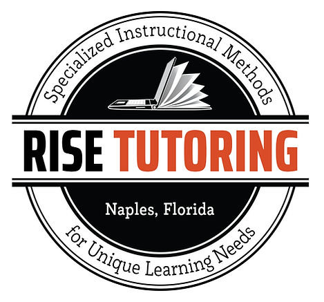 RISE TUTORING Round Logo Design by Coconut BAM Productions