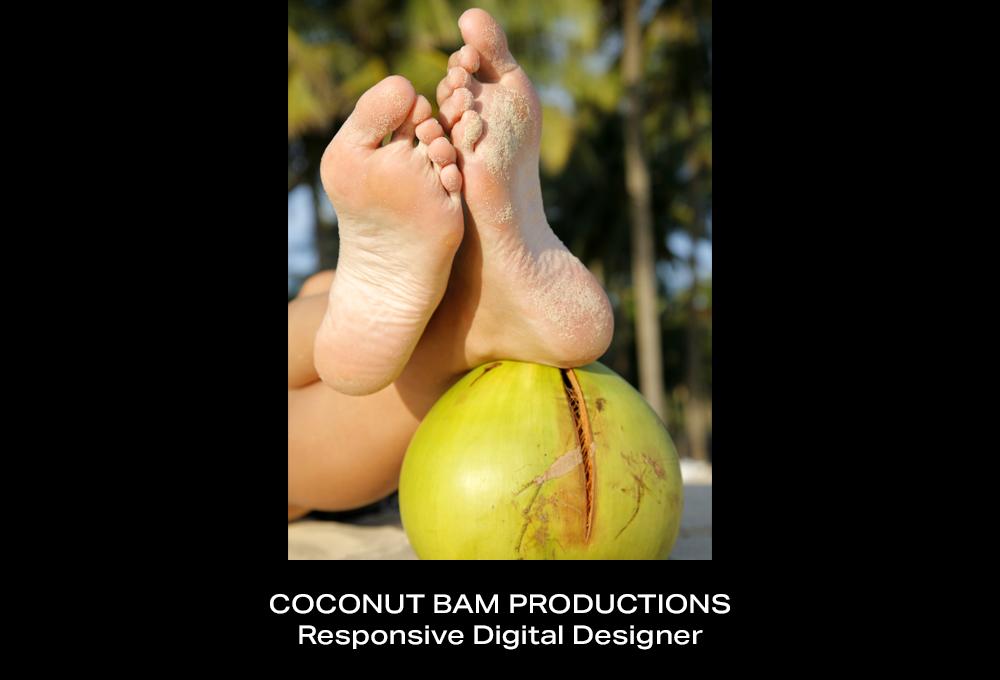 Coconut BAM Productions | Beth A Maxwell | Design Portfolio