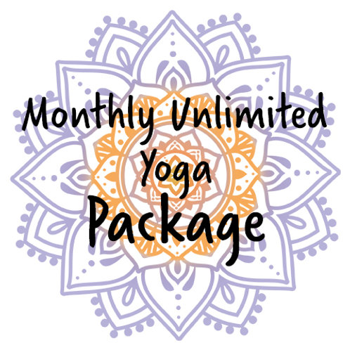 Package – Monthly Unlimited Yoga Card
