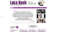 LOLO BASH WEB DESIGN Project Page Link