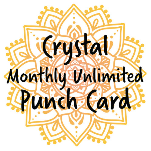 Punch Card – Monthly Unlimited Aerial & Yoga Card
