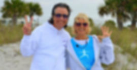 Robert & Lata, Owners, Loving Light Yoga & Healing Center in Englewood, Florida