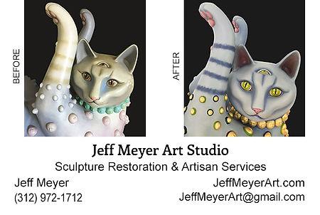 Jeff Meyer Art Business Card Front