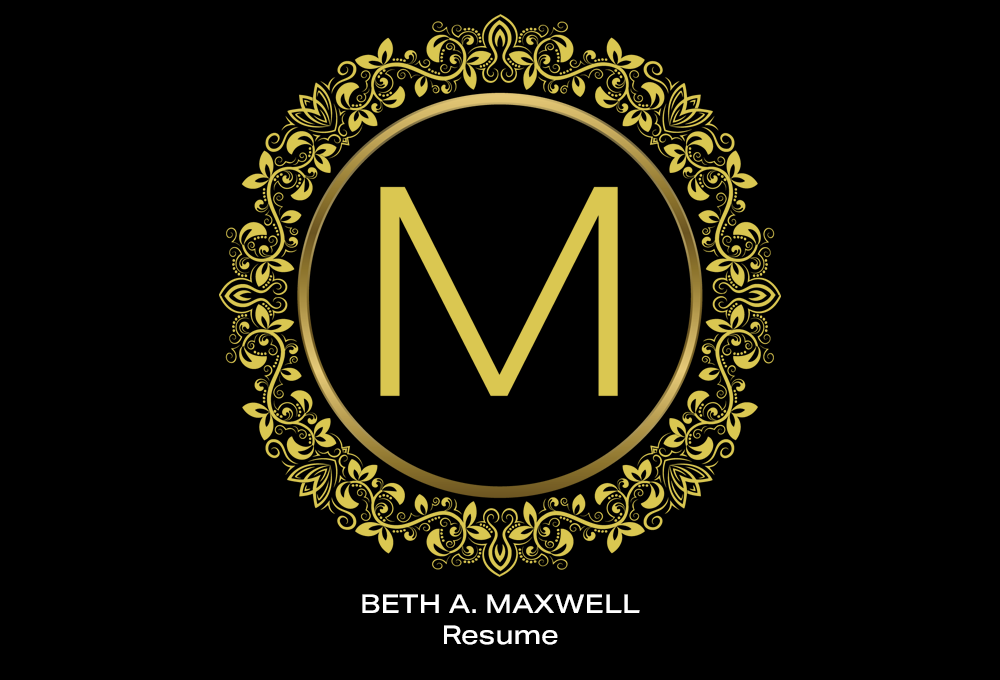 Coconut BAM Productions | Beth A Maxwell | Portfolio | Resume