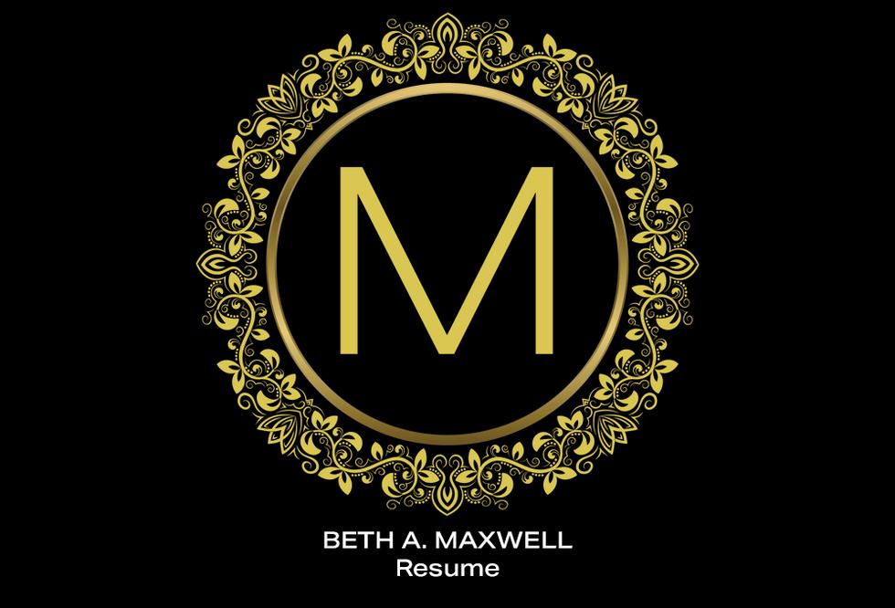 Coconut BAM Productions | Beth A Maxwell | Portfolio | Resume
