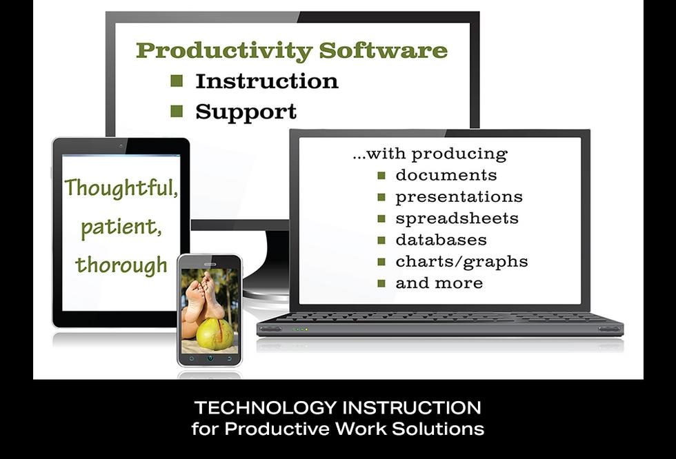 Coconut BAM Productions | Portfolio | Technology Instruction