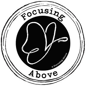 Revised Logo Design with Black Text for Rachel Pynnonen's Focusing Above Business
