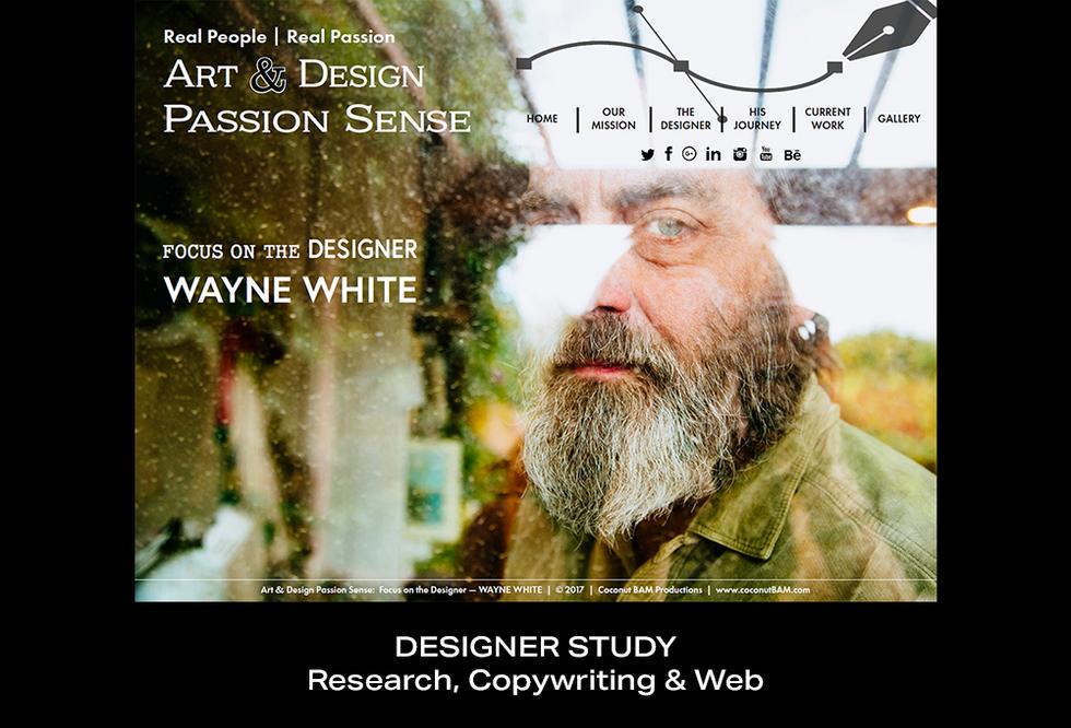 Coconut BAM Productions | Portfolio | Designer Study | Web Design