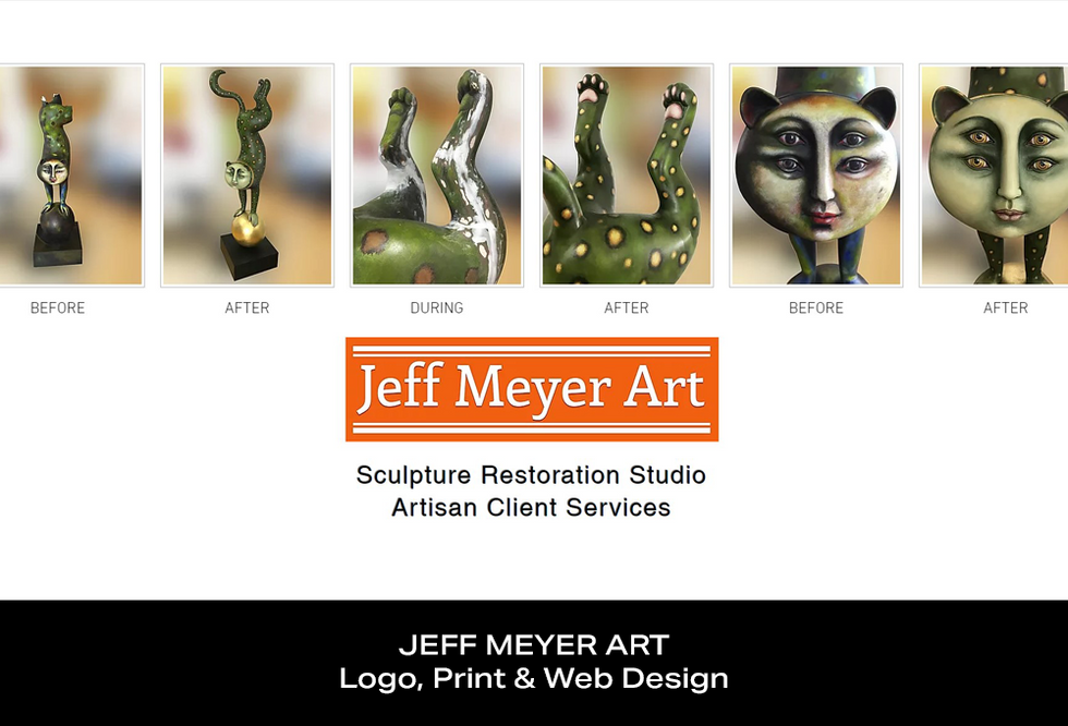Coconut BAM Productions | Portfolio | Jeff Meyer Art | Logo, Print & Web Design
