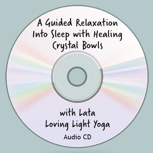 """A Guided Relaxation Into Sleep With Healing Crystal Bowls"""
