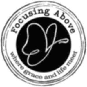 Logo design for Rachel Pynnonen's Focusing Above small business.
