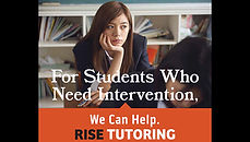 RISE TUTORING PRINT Project Page Link