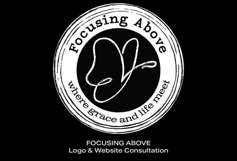 Coconut BAM Productions | Portfolio | Focusing Above | Logo & Blog Design