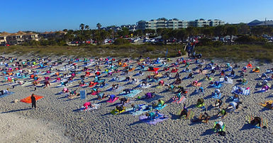 Come Join Us - Englewood Beach Yoga - Namaste, Lata & Robert, Loving Light Yoga & Healing Center