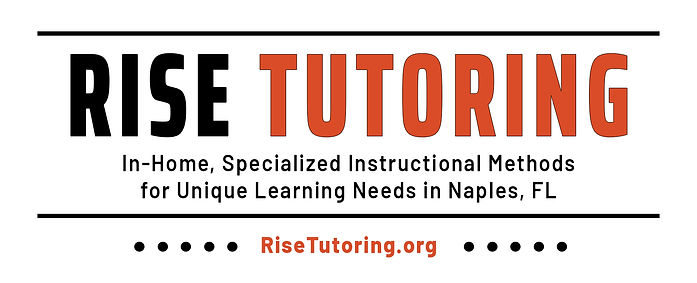 RISE TUTORING Banner Logo Design by Coconut BAM Productions