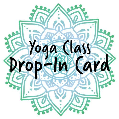 Drop-In Card – Yoga Class