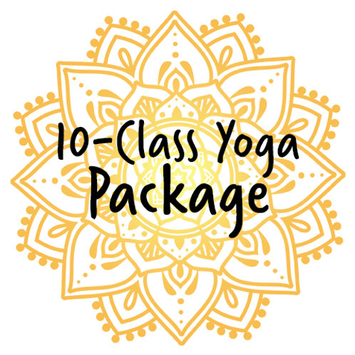 Package – 10-Class Yoga Card