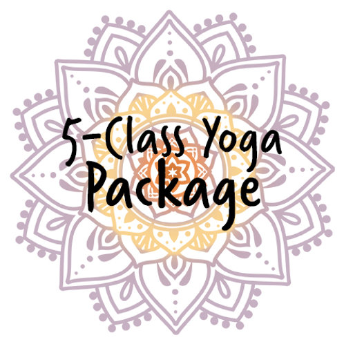 Package – 5-Class Yoga Card