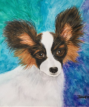 Pup Portrait Studio | Watercolors by Judy Thompson | Watercolor Addict