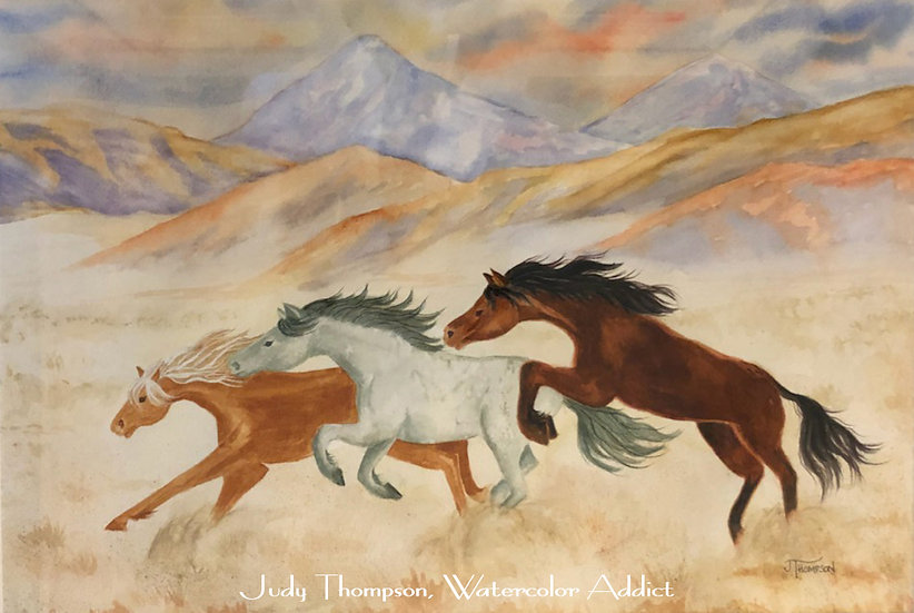 """Mustangs of the Mojave"""