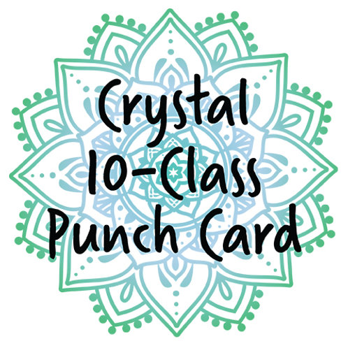 Punch Card – 10-Class Aerial Yoga Card