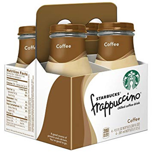 Starbucks frappuccino coffee 4 pack