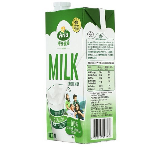 Arla whole milk