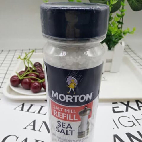 Morton Sea Salt Mill Refill 397g