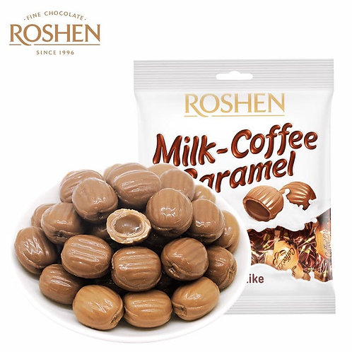 Roshen Milk-Coffee Caramel Candy