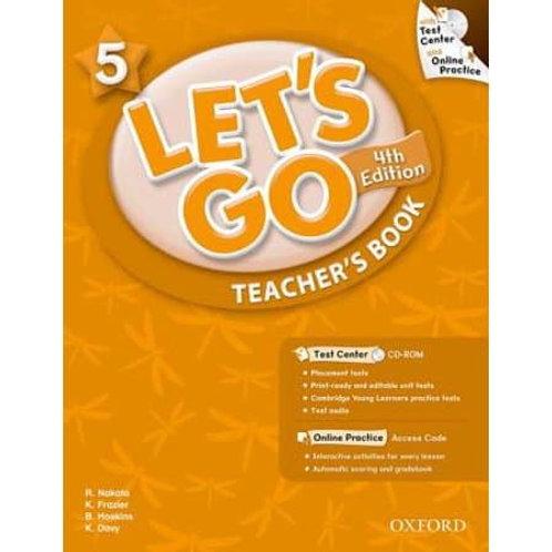Let's Go 5 Teacher's Book with Test Center CD-ROM