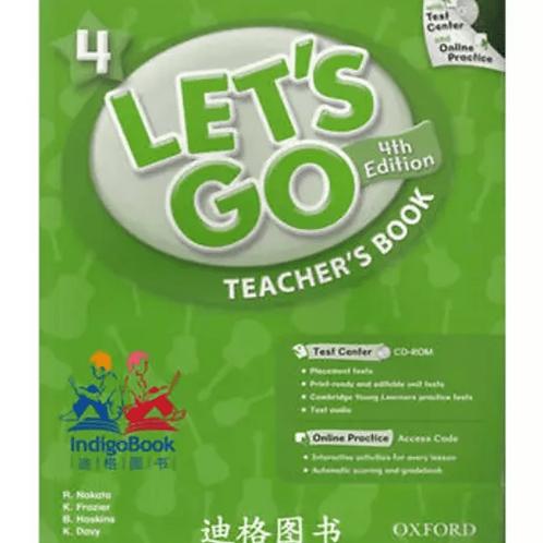 Let's Go 4 Teacher's Book with Test Center CD-ROM