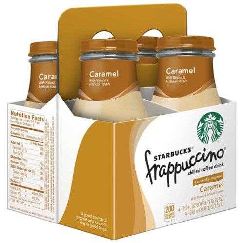 Starbucks frappuccino caramel 4 pack