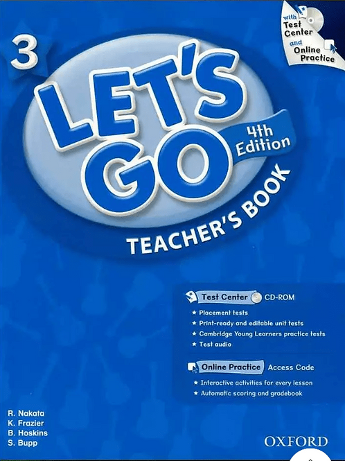Let's Go 3 Teacher's Book with Test Center CD-ROM