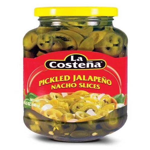 La Costeña pickled jalapeño slices